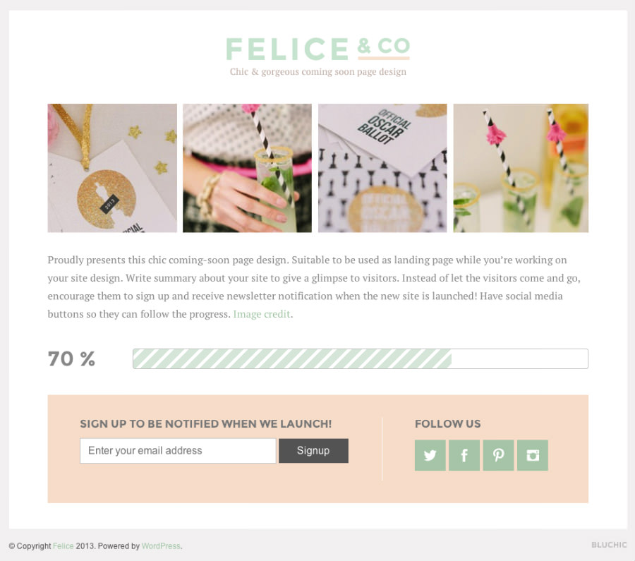 無料WordPressテーマ-ランディングページ-FELICE-デモサイト2