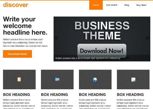 Wordpress無料テーマ-ビジネス-discover-トップイメージ
