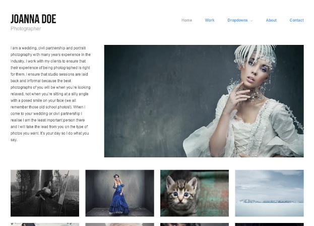 シンプル好みの写真家向けポートフォリオサイトに。WP無料テーマ「Hatch」