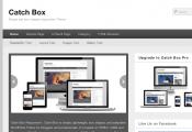 ブログやwebマガジン用の無料WordPressテーマ「catchbox」のトップページイメージ