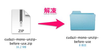 ビジネスかつポートフォリオ用の無料WordPressテーマ「Cudazi-Mono」のインストール方法01