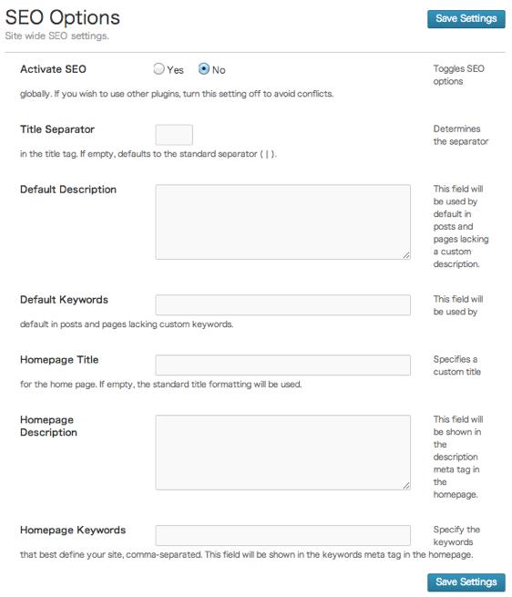 ビジネスやポートフォリオサイト用の無料WordPressテーマ「enclosed」のSEOのカスタマイズ方法