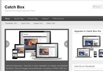 平均点が高く使い勝手よし!ブログ用WordPressテーマ「Catch Box」