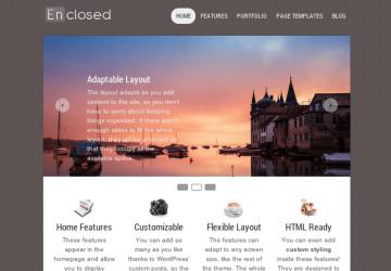 WordPressでポートフォリオサイトを作る機能が山盛り!「Enclosed」