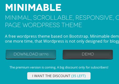 ポートフォリオ-ビジネス用の無料WordPressテーマ「Minimable」の導入方法1