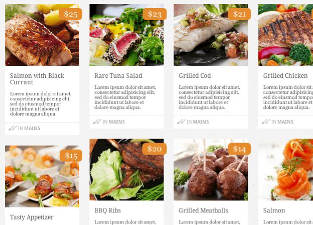 レストラン-店舗用の無料WordPressテーマ「restaurateur」のトップページイメージ