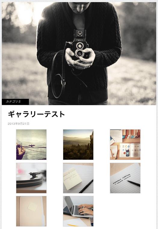 ポートフォリオ-ブログ用の無料WordPressテーマ「Gridly」の投稿方法5
