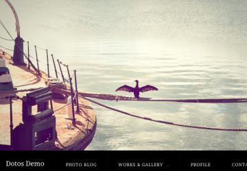 フルスクリーンスライダーが格好いい!写真ギャラリー用WP無料テーマ「Dotos」