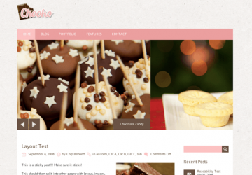 かわいいブログ用テーマをお探しの方におすすめ。WP無料テーマ「Chooko Lite」