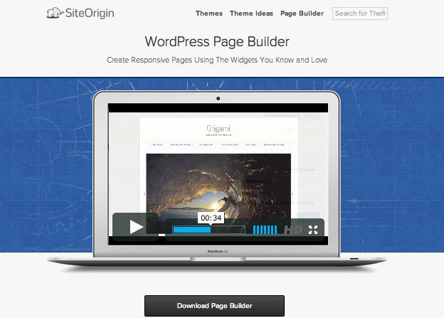 レスポンシブページ作成用のWordPressプラグイン「PageBuilder」のイメージ画像