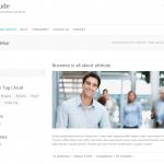 ビジネスサイト用の無料WordPressテーマ「Attitude」の個別のページデザイン1