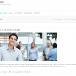 ビジネスサイト用の無料WordPressテーマ「Attitude」の個別のページデザイン4