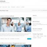 ビジネスサイト用の無料WordPressテーマ「Attitude」のカテゴリーページデザイン1